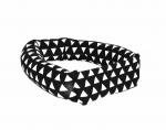 Savvy Curls black triangle single curling hair wrap