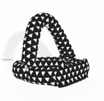 Savvy Curls black triangle convertible curling hair wrap